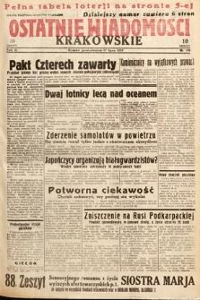 Ostatnie Wiadomości Krakowskie. 1933, nr196