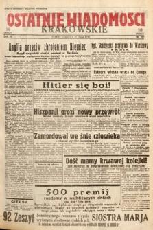 Ostatnie Wiadomości Krakowskie. 1933, nr206