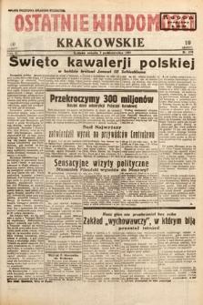 Ostatnie Wiadomości Krakowskie. 1933, nr278