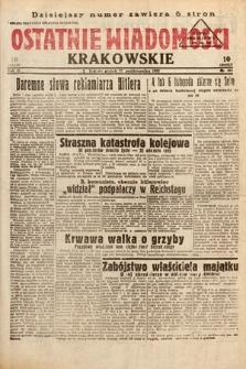 Ostatnie Wiadomości Krakowskie. 1933, nr301