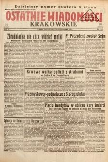 Ostatnie Wiadomości Krakowskie. 1933, nr304