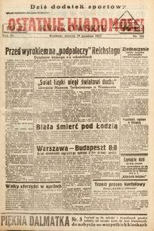Ostatnie Wiadomości Krakowskie. 1933, nr354