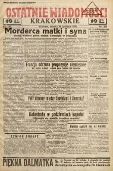 Ostatnie Wiadomości Krakowskie. 1933, nr362