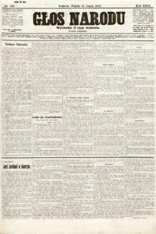 Głos Narodu (wydanie wieczorne). 1915, nr355