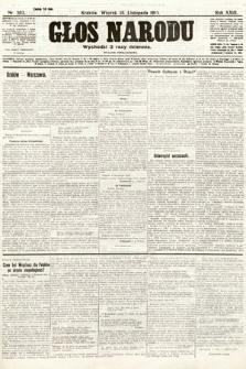 Głos Narodu (wydanie popołudniowe). 1915, nr593