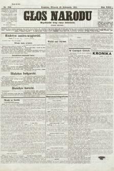 Głos Narodu (wydanie poranne). 1915, nr594