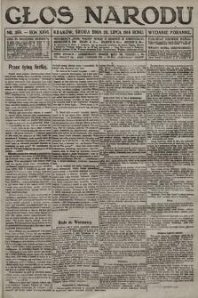 Głos Narodu (wydanie poranne). 1916, nr358