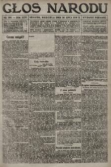 Głos Narodu (wydanie poranne). 1916, nr366