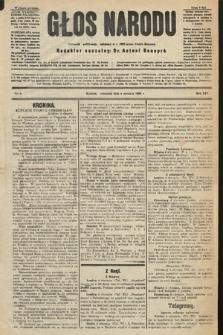 Głos Narodu : dziennik polityczny, założony w r. 1893 przez Józefa Rogosza (wydanie poranne). 1906, nr5