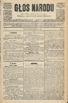 Głos Narodu : dziennik polityczny, założony w r. 1893 przez Józefa Rogosza (wydanie poranne). 1906, nr10