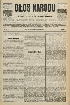 Głos Narodu : dziennik polityczny, założony w r. 1893 przez Józefa Rogosza (wydanie wieczorne). 1906, nr15