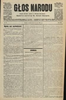 Głos Narodu : dziennik polityczny, założony w r. 1893 przez Józefa Rogosza (wydanie poranne). 1906, nr22
