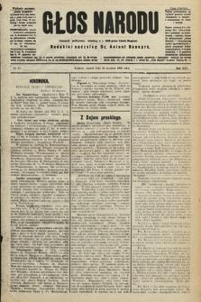Głos Narodu : dziennik polityczny, założony w r. 1893 przez Józefa Rogosza (wydanie poranne). 1906, nr25