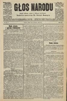 Głos Narodu : dziennik polityczny, założony w r. 1893 przez Józefa Rogosza (wydanie poranne). 1906, nr44