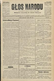 Głos Narodu : dziennik polityczny, założony w r. 1893 przez Józefa Rogosza (wydanie poranne). 1906, nr65