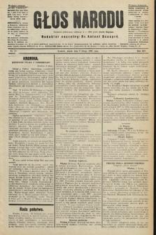 Głos Narodu : dziennik polityczny, założony w r. 1893 przez Józefa Rogosza (wydanie poranne). 1906, nr69