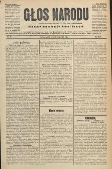 Głos Narodu : dziennik polityczny, założony w r. 1893 przez Józefa Rogosza (wydanie poranne). 1906, nr82