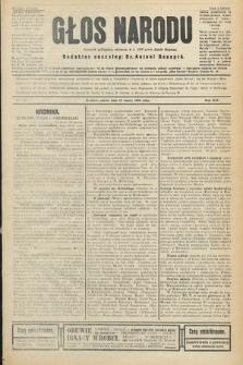 Głos Narodu : dziennik polityczny, założony w r. 1893 przez Józefa Rogosza (wydanie poranne). 1906, nr119