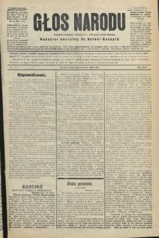 Głos Narodu : dziennik polityczny, założony w r. 1893 przez Józefa Rogosza (wydanie poranne). 1906, nr125