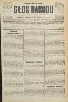 Głos Narodu : dziennik polityczny, założony w r. 1893 przez Józefa Rogosza (wydanie wieczorne). 1906, nr126