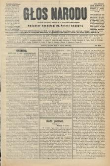 Głos Narodu : dziennik polityczny, założony w r. 1893 przez Józefa Rogosza (wydanie poranne). 1906, nr127
