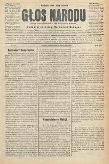 Głos Narodu : dziennik polityczny, założony w r. 1893 przez Józefa Rogosza (wydanie wieczorne). 1906, nr128
