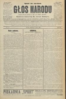 Głos Narodu : dziennik polityczny, założony w r. 1893 przez Józefa Rogosza (wydanie poranne). 1906, nr138