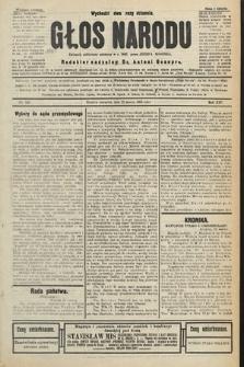Głos Narodu : dziennik polityczny, założony w r. 1893 przez Józefa Rogosza (wydanie poranne). 1906, nr140