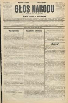 Głos Narodu : dziennik polityczny, założony w r. 1893 przez Józefa Rogosza (wydanie wieczorne). 1906, nr151