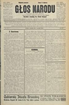 Głos Narodu : dziennik polityczny, założony w r. 1893 przez Józefa Rogosza (wydanie poranne). 1906, nr165