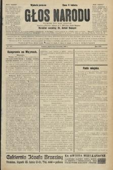 Głos Narodu : dziennik polityczny, założony w r. 1893 przez Józefa Rogosza (wydanie poranne). 1906, nr167
