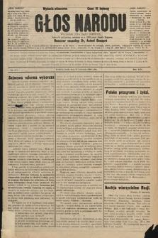 Głos Narodu : dziennik polityczny, założony w r. 1893 przez Józefa Rogosza (wydanie wieczorne). 1906, nr177