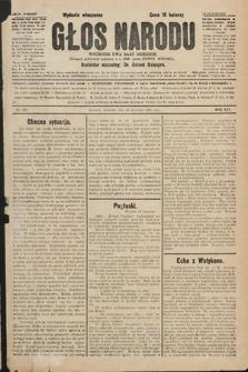 Głos Narodu : dziennik polityczny, założony w r. 1893 przez Józefa Rogosza (wydanie wieczorne). 1906, nr202