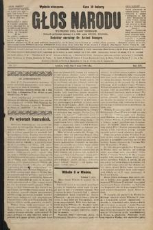 Głos Narodu : dziennik polityczny, założony w r. 1893 przez Józefa Rogosza (wydanie wieczorne). 1906, nr223