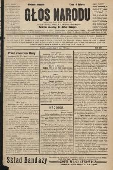 Głos Narodu : dziennik polityczny, założony w r. 1893 przez Józefa Rogosza (wydanie poranne). 1906, nr224