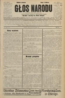 Głos Narodu : dziennik polityczny, założony w r. 1893 przez Józefa Rogosza (wydanie poranne). 1906, nr298