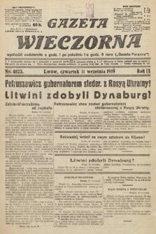 Gazeta Wieczorna. nr4823