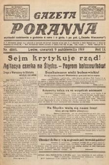 Gazeta Wieczorna. nr4869