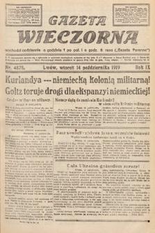 Gazeta Wieczorna. nr4878
