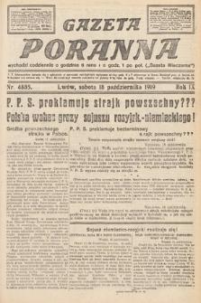 Gazeta Poranna. nr4885