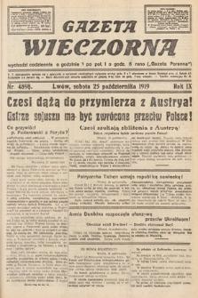 Gazeta Wieczorna. nr4898