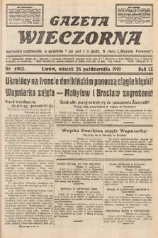 Gazeta Wieczorna. nr4902
