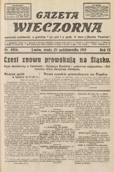 Gazeta Wieczorna. nr4904