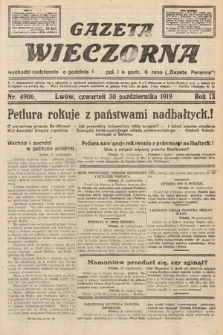 Gazeta Wieczorna. nr4906