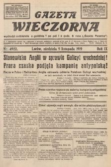 Gazeta Wieczorna. nr4922