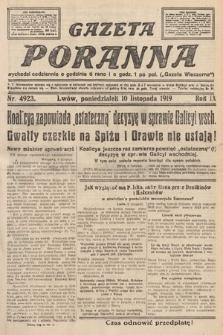 Gazeta Poranna. nr4923