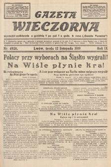 Gazeta Wieczorna. nr4926