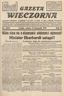 Gazeta Wieczorna. nr4932