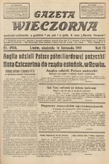 Gazeta Wieczorna. nr4934