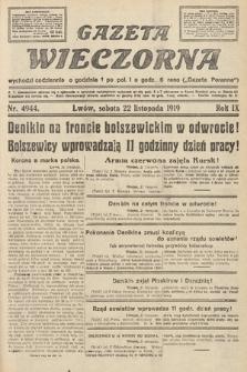Gazeta Wieczorna. nr4944
